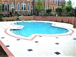resurfacing pool cost rubber pool deck resurfacing cost decorative concrete overlays a refinishing repair fl 1 resurfacing pool