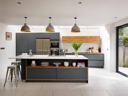 image of grey kitchen cabinets for