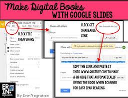 making digital books on google slides