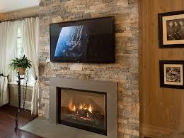 faux stone fireplace mantels interior design ideas