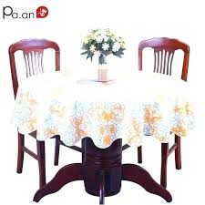 plastic tablecloths with elastic round 60 inch round vinyl tablecloths with elastic