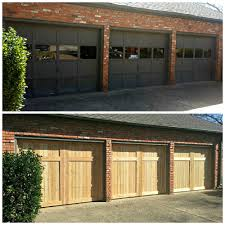 replacement garage doorscedar overlay  Cowtown Garage Door Blog