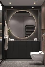 Modern Bathroom Design Pictures Impressive Квартира в ЖК Николаевский Ансамбль On Behance R Mark Pinterest