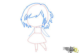 How To Draw Girl Shirts Chibi Girl How To Draw Chibi Girl Drawing At Getdrawings Free For