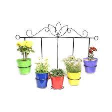 5 pots wall hanging planters at rs 1800