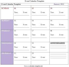 Yearly Event Calendar Template 2014 Annual Calendar Template Thekatalyst Co