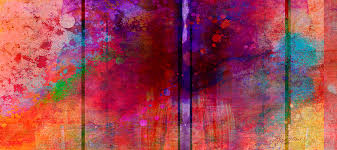 abstract painting color burst two abstract art by ann powell