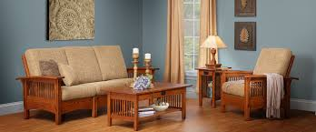 living room wooden furniture. amish furniture for living room with wooden frame sofa and coffee table also
