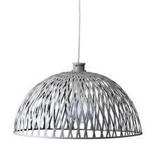 Bloomingville Rotan Lamp Grijs Livv Lifestyle