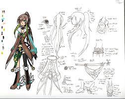 anime character design base.  Anime On Anime Character Design Base E