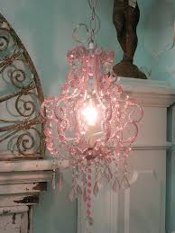 hobby lobby pink chandelier