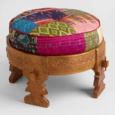 Cheap Footstools With Storage Benches And Ottomans Storage Tufted Uphostered World Market