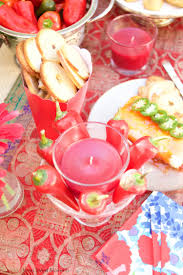 Fiesta Table Decorations Throwing An Elegant Mexican Fiesta Party Tutorial Living Sweet