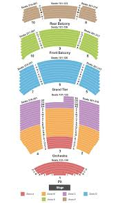 Neal Blaisdell Concert Hall Seating Chart Buy Rent Tickets Seating Charts For Events Ticketsmarter