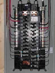 panel condo remodel electrical circuit breaker inc pinterest Square D Breaker Box Wiring all breakers are siemens ite, except for the surge protector (square d) and the gfci and afci breakers (ge) square d breaker box wiring diagram
