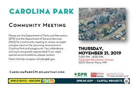Carolina Park Renovation Dgs