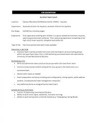 Awesome High School Football Coach Resume Contemporary Simple