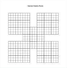 blank crossword puzzle grids printable blank crossword kids template sudoku grid nppa co