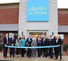 Charles Schwab celebrates relocated ...
