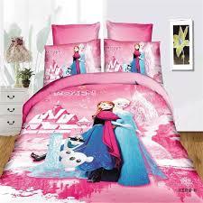 girls duvet covers. Disney Frozen Girls Bedding Set Duvet Cover Bed Sheet Pillow Cases Twin Single Size Pink Covers O
