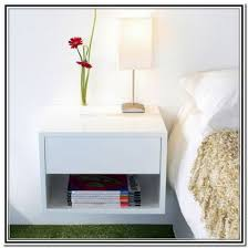 Chic Ikea Wall Mounted Bedside Table Drawer Good Wall Mounted Nightstand  With Drawer Design Floating