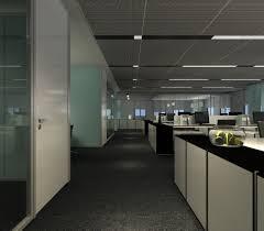 hallway office. Office Hallway. Modern Hallway 3d Model Max 1 K