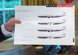 Trump Air Force One Design Trump Reveals The New Proposed Air Force One Designs