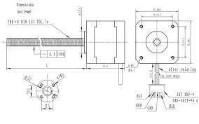 stepper motor cm lead screw bipolar steps the inside of a bipolar stepper motor