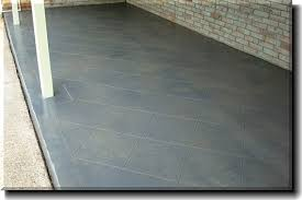 Stained concrete patio gray Acid Wash Concrete Concrete Staining Of Front Back Patio Scored Stained Home Decoration Ideas Awesome Exterior Stained Concrete Patio For Your Lovely Backyards