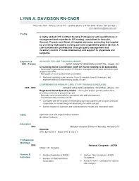 Nursing Resume Format Best Nursing Resume Examples Nurse Resume
