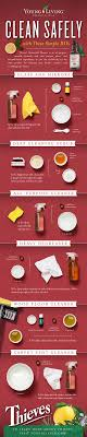 Thieves Oil Dilution Thieves Household Cleaner Infographic Young Living1png