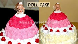 Doll Cakehow To Make And Decorate Barbie Doll Cakedoll Cake