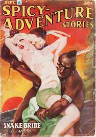 y adventure stories september 1937 pulp fiction cover art