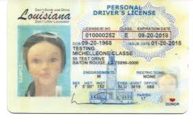 Fake - World Fakes Louisiana Id Wide