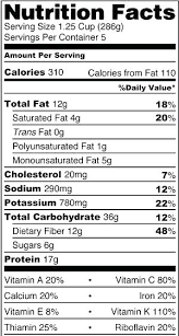 Nutrition Labels Template Food Nutrition Facts Label Template Templates Free