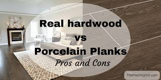hardwood flooring vs tile planks that look like hardwood pros and cons the flooring girl