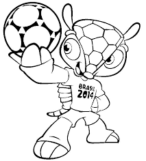 Small Picture 18 best Soccer World Cup 2014 Coloring pages images on Pinterest