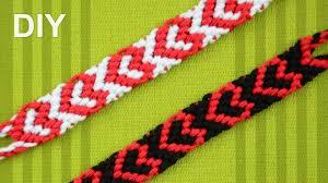 Heart Friendship Bracelet Pattern Custom Decorating