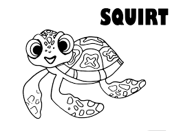 Finding Nemo Seagulls Coloring Pages Free Coloring For Kids 2019