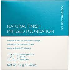 Colorescience Color Chart Natural Finish Pressed Foundation Spf 20