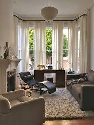 window treatment ideas double rod curtains