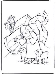 Noach 1 Bijbel Kleurplaten Oude Testament