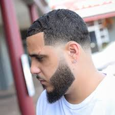 jose crespo short waves taper fade haircut for men