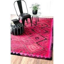 nuloom pink rug area overdyed persian medallion