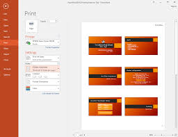 Powerpoint 2016 Printing Full Page