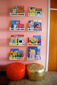 Ikea Bekvam Spice Racks Turned Bookshelves~Waiting for IKEA to get these in  for the baby's room!