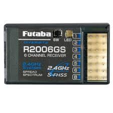 Futaba Receiver Chart Futaba R2006gs 6 Channel S Fhss Receiver 6j