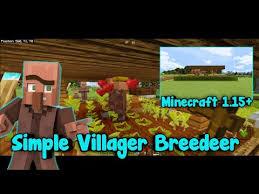 minecraft ps4 villager breeder 2019