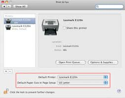 How To Fax From Mac Answer Center The Printers Paper Size Has Changed Since