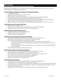 Writing A Research Proposal Template Abstract For Research Research
